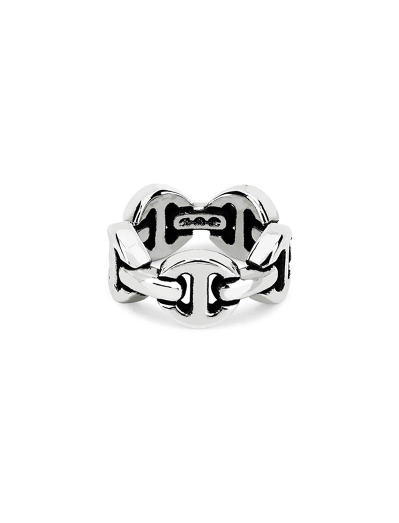 Dame Classic Tri-Link Ring
