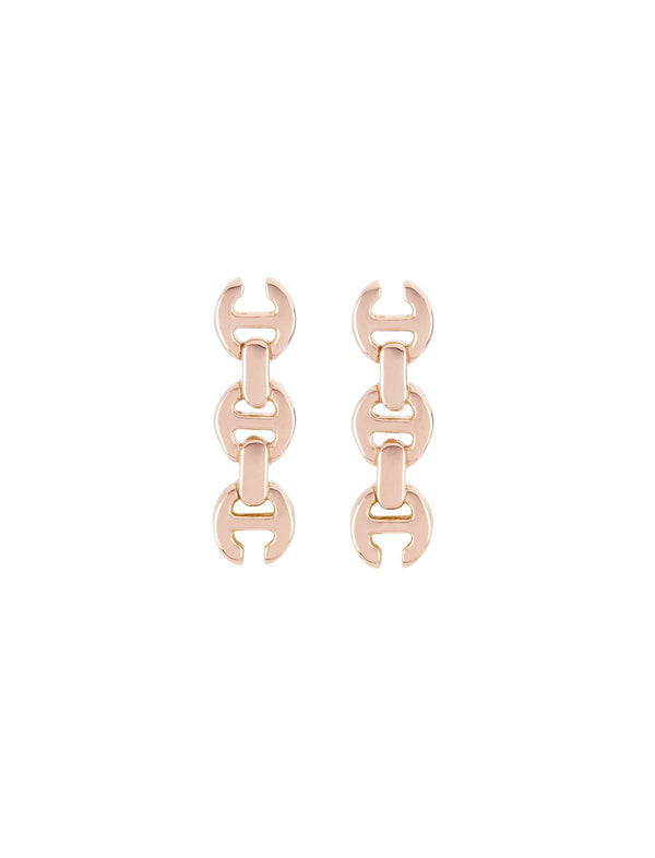 3mm Toggle Studs 18K Rose Gold