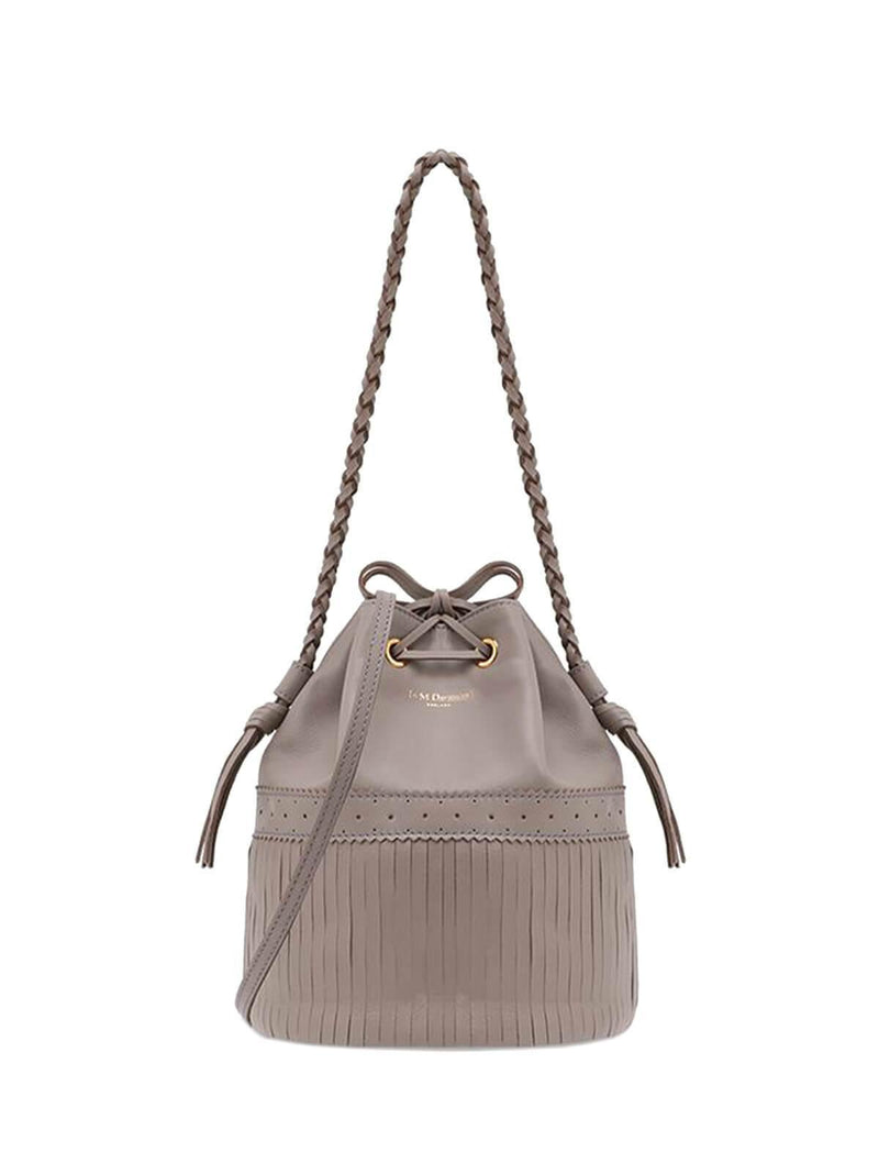 2-Way Medium Carnival Bucket Bag In Gray