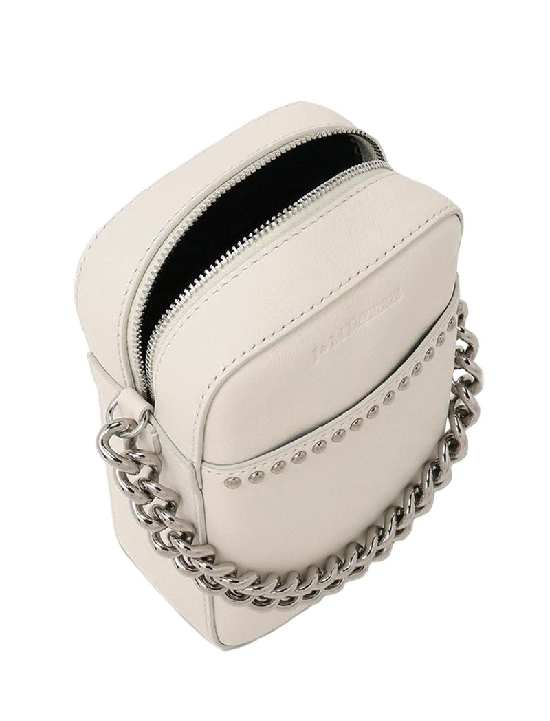 Mini Pebble Bag In White