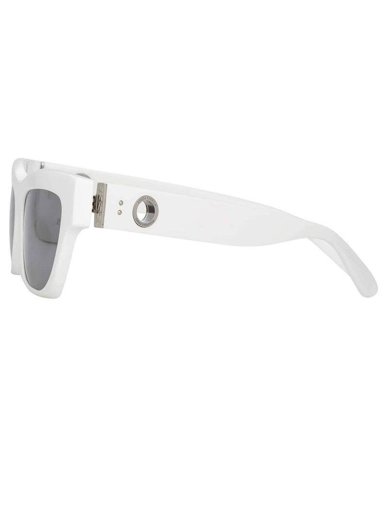 Moe Sunglasses In White