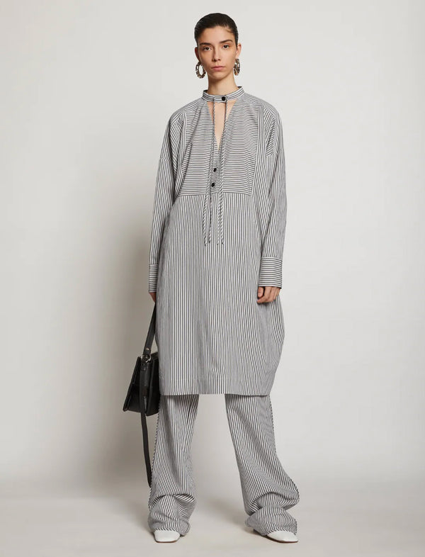 Striped Pajama Caftan