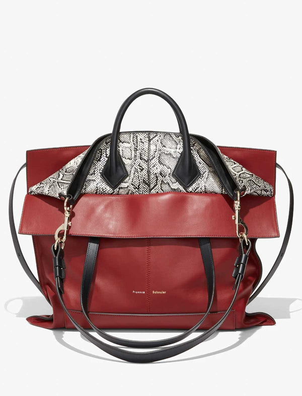 Elaphe PS19 Large Bag In Red