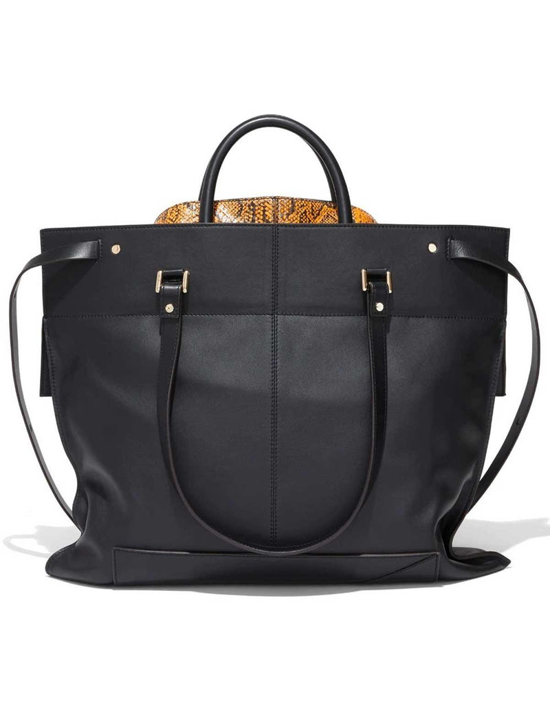 Elaphe PS19 Large Bag In Black - CLOSET Singapore