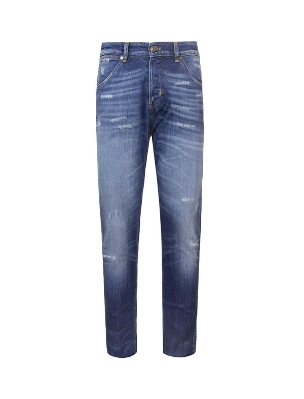 Reggae Fit Denim Jeans in Blue