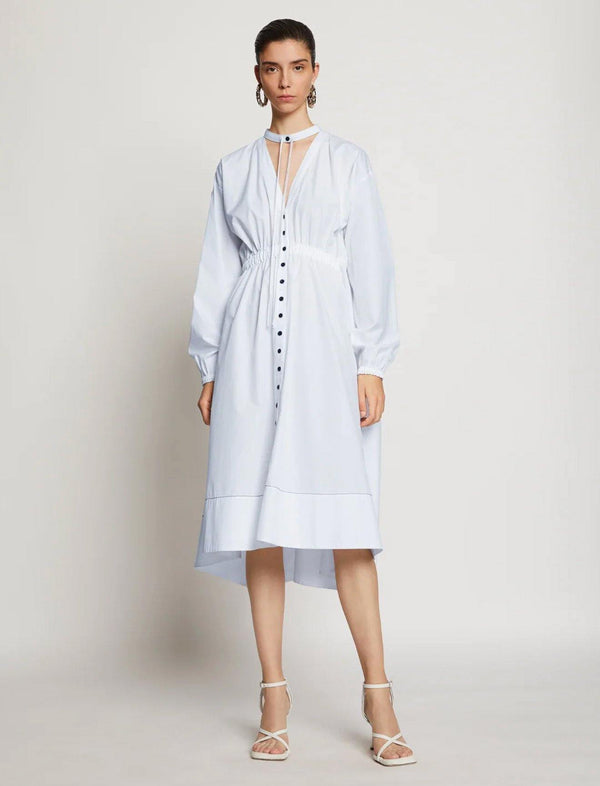 Cotton Shirting Shirt Dress