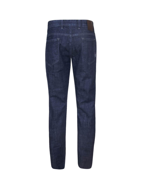 Swing Fit Denim Jeans in Dark Blue