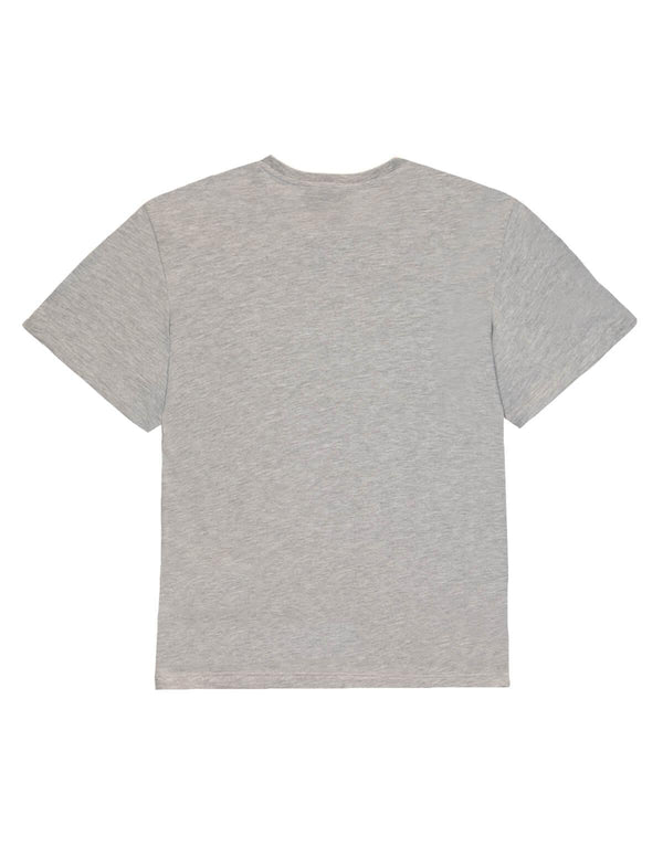 Logo Cotton Jersey T-Shirt In Grey