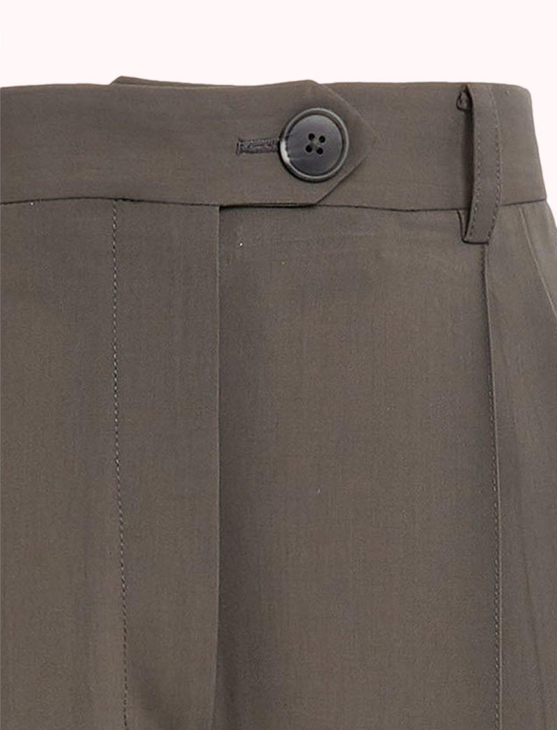 Burnell Trouser in Pewter Grey