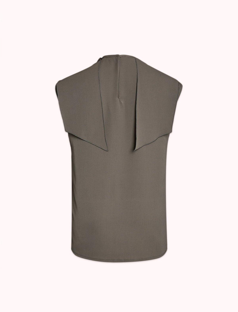 Ensor Blouse In Pewter Grey