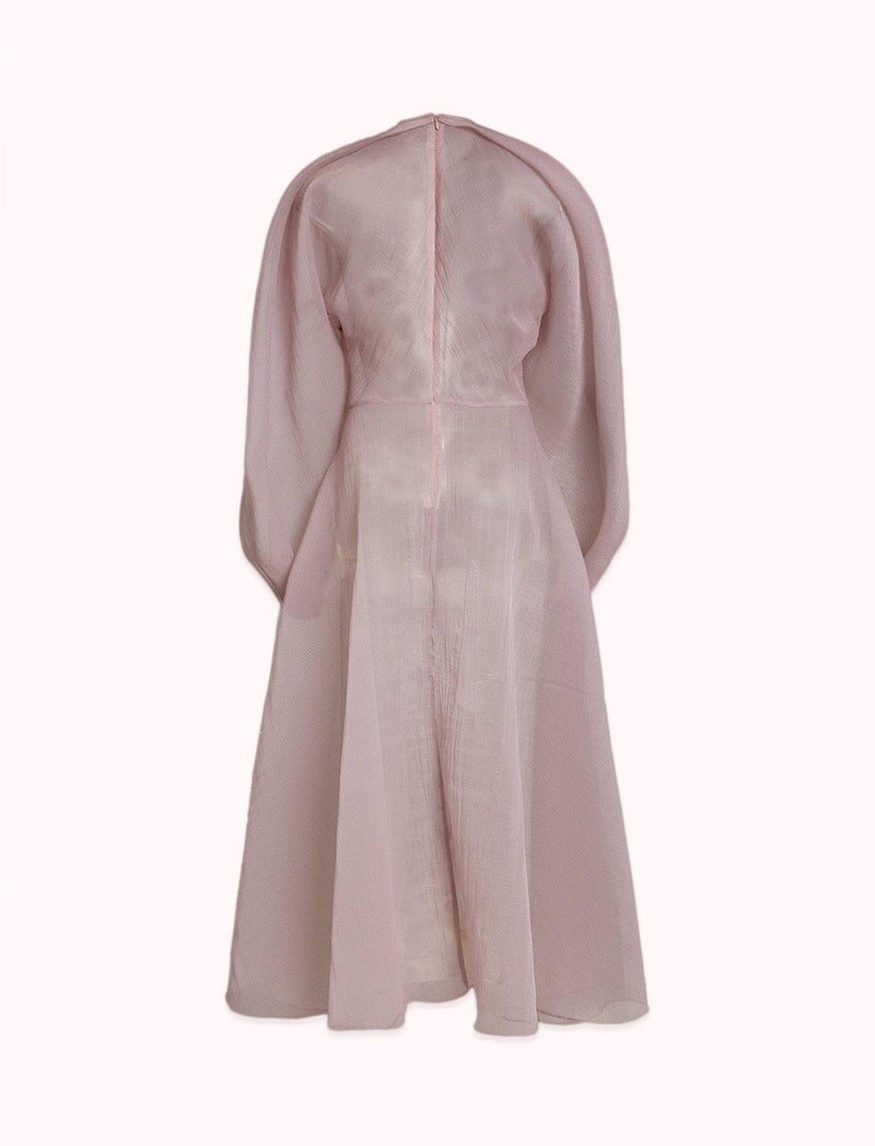 Beha Dress In Blush Pink - CLOSET Singapore