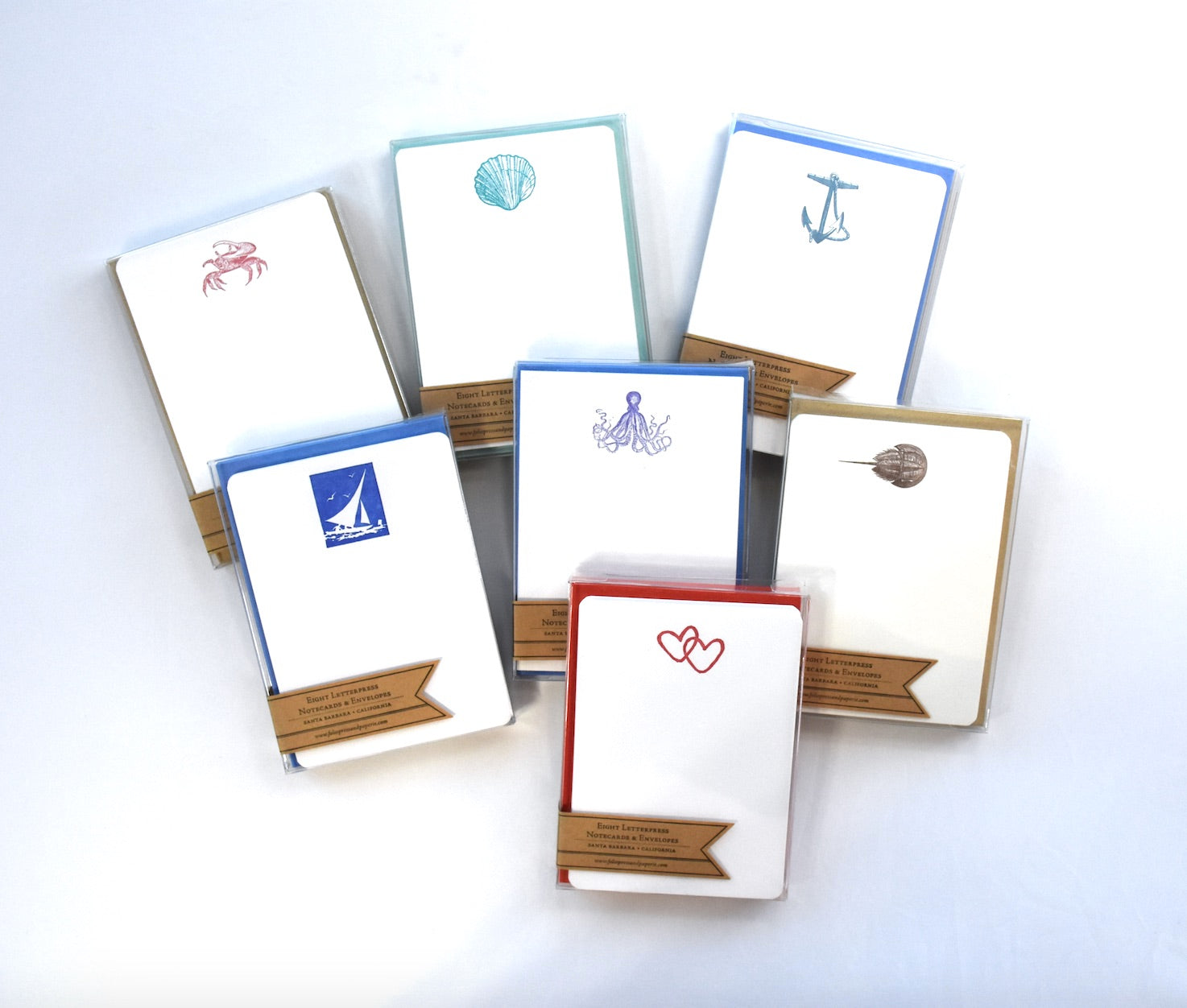 Letterpress Notecards & Envelopes