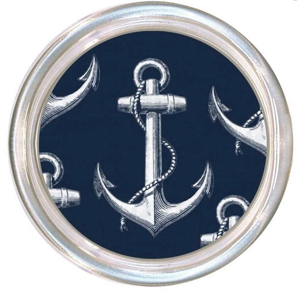 Vintage Navy Anchor Coaster