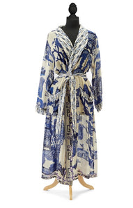 Great Willow Long Kimono