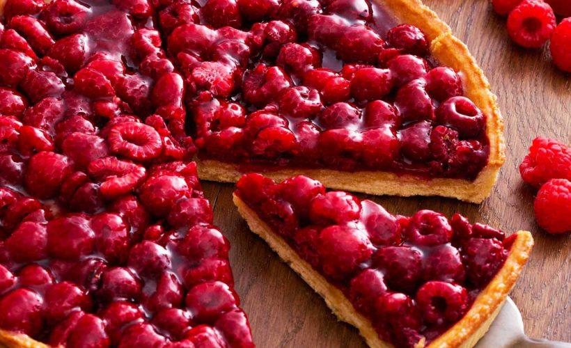 Raspberry Tart 700g Pomone - Gourmet de Paris : French Food