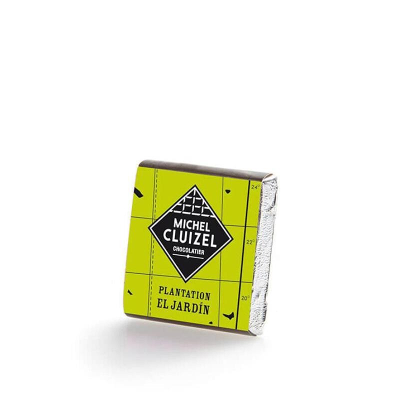 El Jardin Dark Square 69% 2kg M. CLUIZEL - Gourmet de Paris : French Food