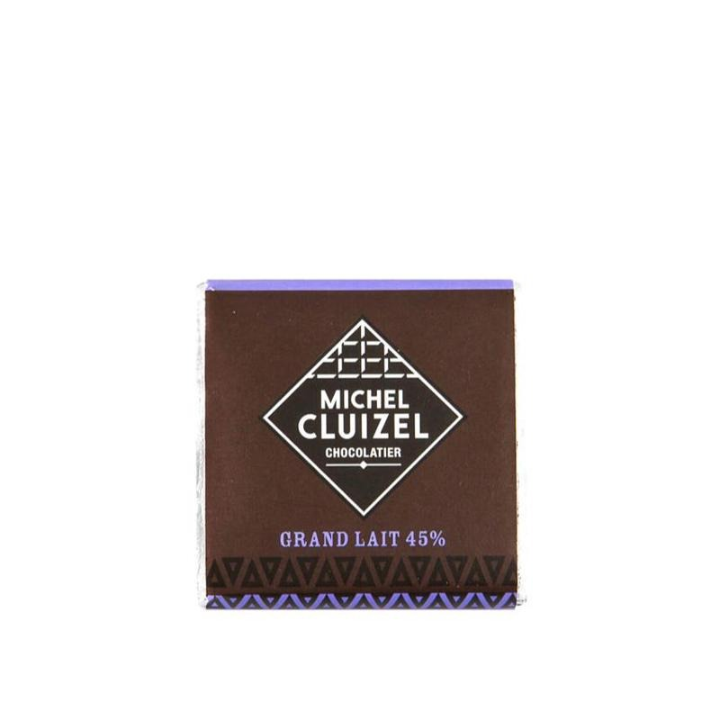 Grand Milk Square 45% 2kg M. CLUIZEL - Gourmet de Paris : French Food