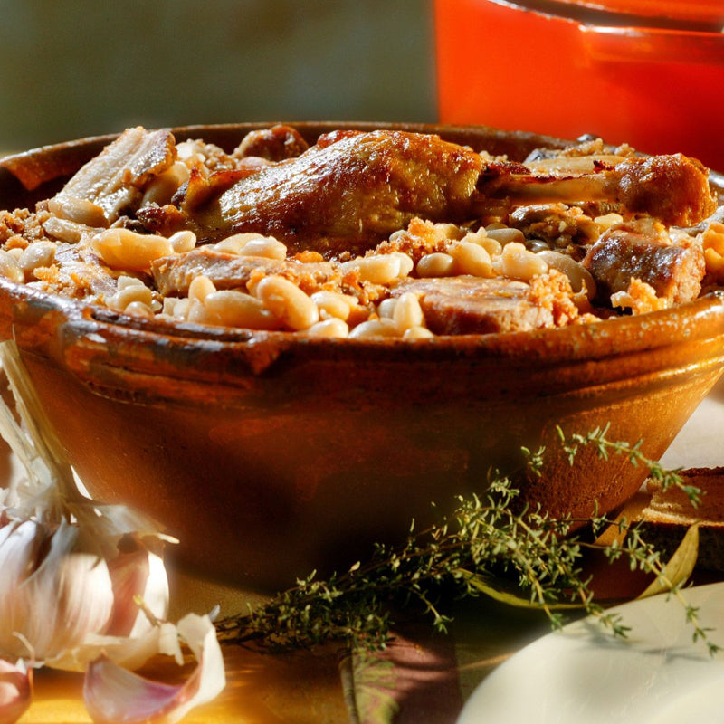 Duck Cassoulet Jean Larnaudie | Glass Jar 750g