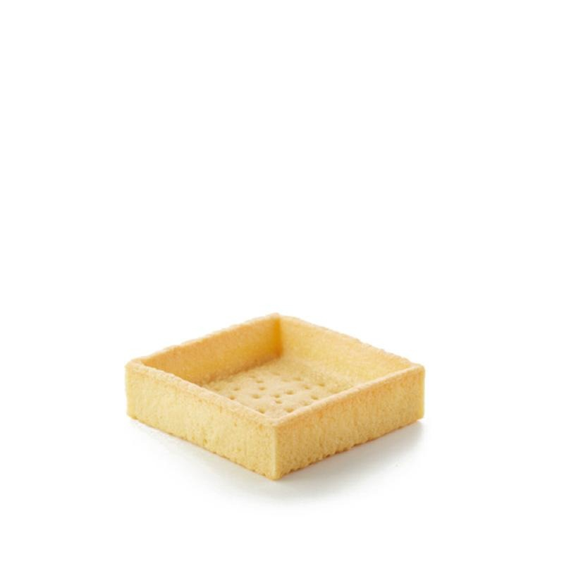 Straight Edge Sweet Butter Tarlet Square Masdeu - Gourmet de Paris : French Food