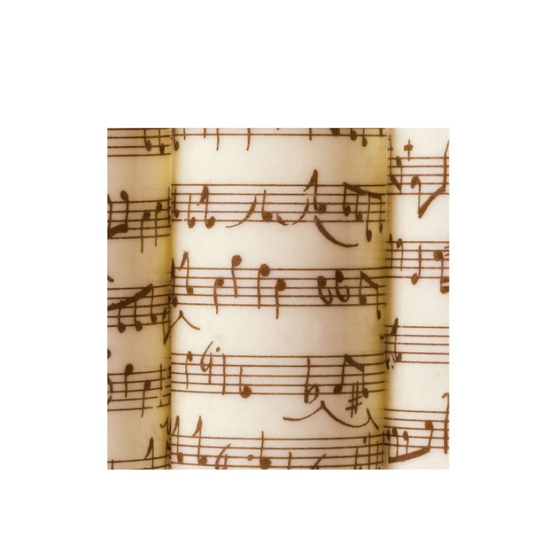 Musical Notes Dark Transfer Sheets 10pcs - Gourmet de Paris : French Food