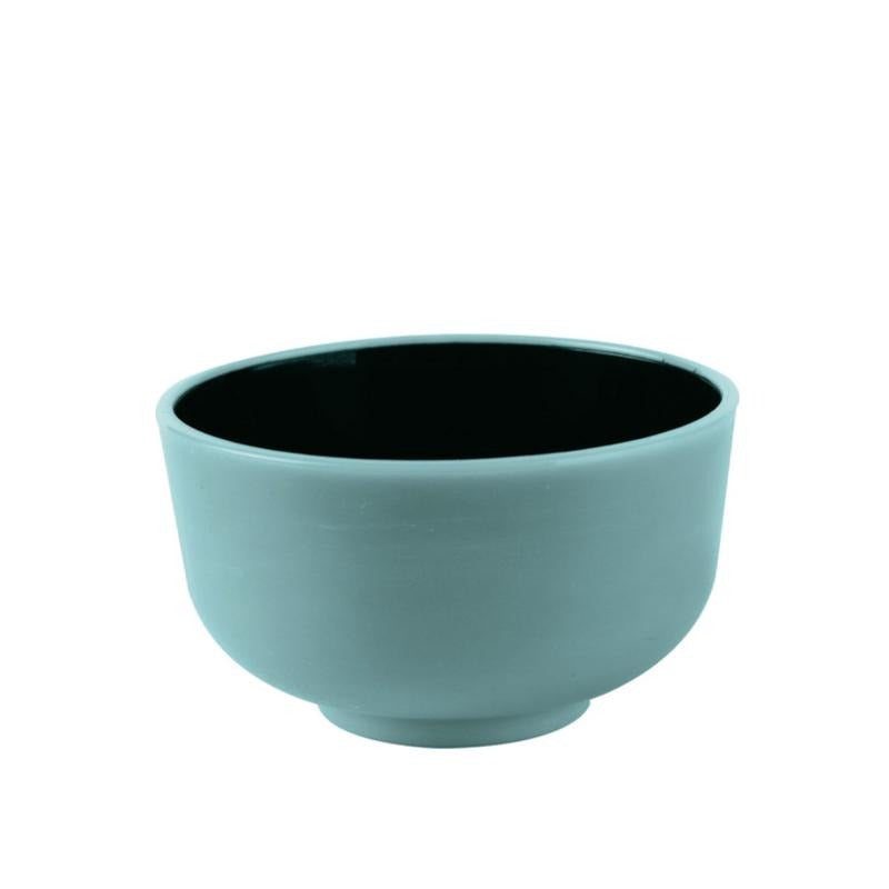 Thai Mini Bowl Turquoise & Black 30ml 10pcs - Gourmet de Paris : French Food
