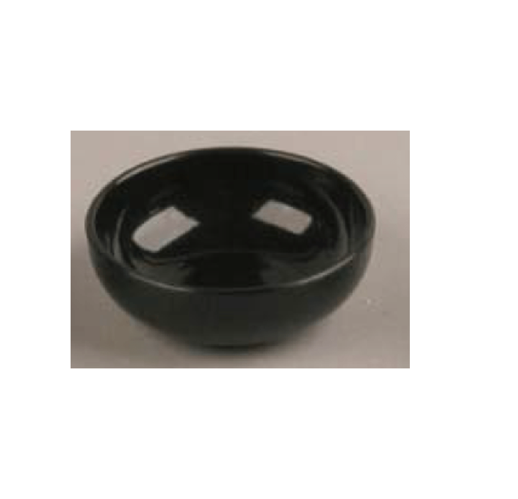 Mini Salad Bowl Black 50ml 200pcs - Gourmet de Paris : French Food