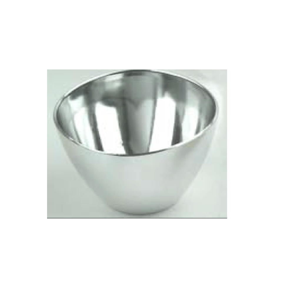 Mini Bowl Silver 30ml 200pcs - Gourmet de Paris : French Food