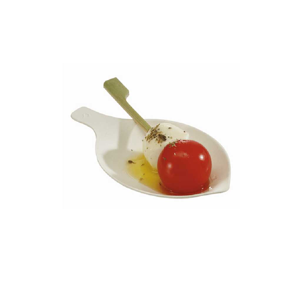 Sugarcane Pulp Petal Mini Dish 200pcs - Gourmet de Paris : French Food