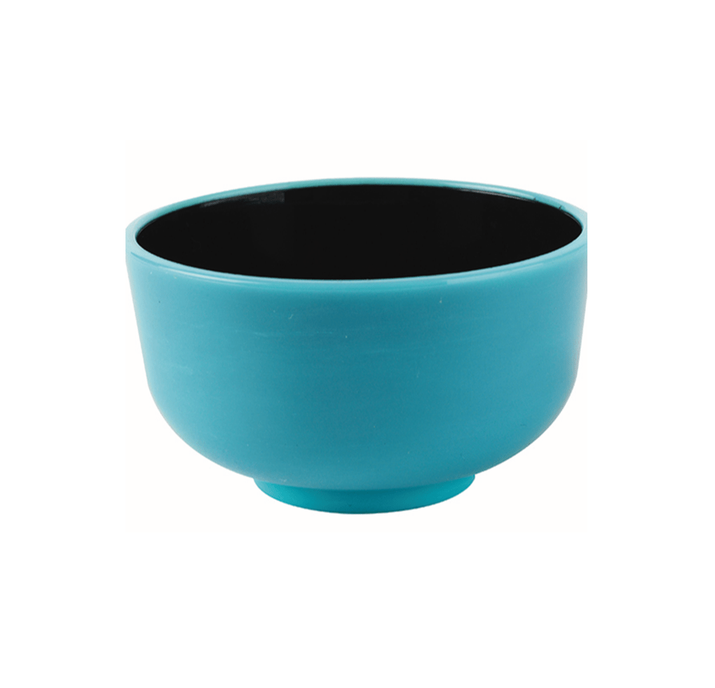 Thai Mini Bowl Turquoise & Black 30ml 200pcs - Gourmet de Paris : French Food