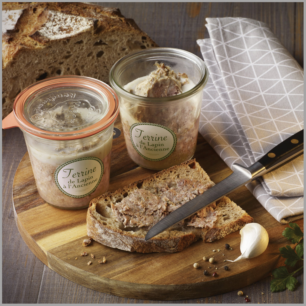 Traditional Rabbit Terrine Loste | Glass Jar 200g