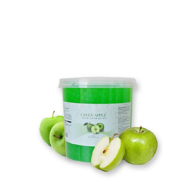 Green Apple Popping Pearls 3.2kg - Gourmet de Paris : French Food