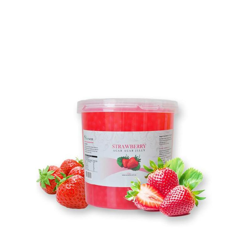 Strawberry Popping Pearls 3.2kg - Gourmet de Paris : French Food