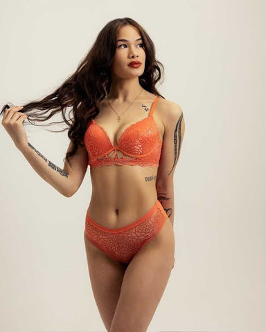 Lucy longline bra and panty