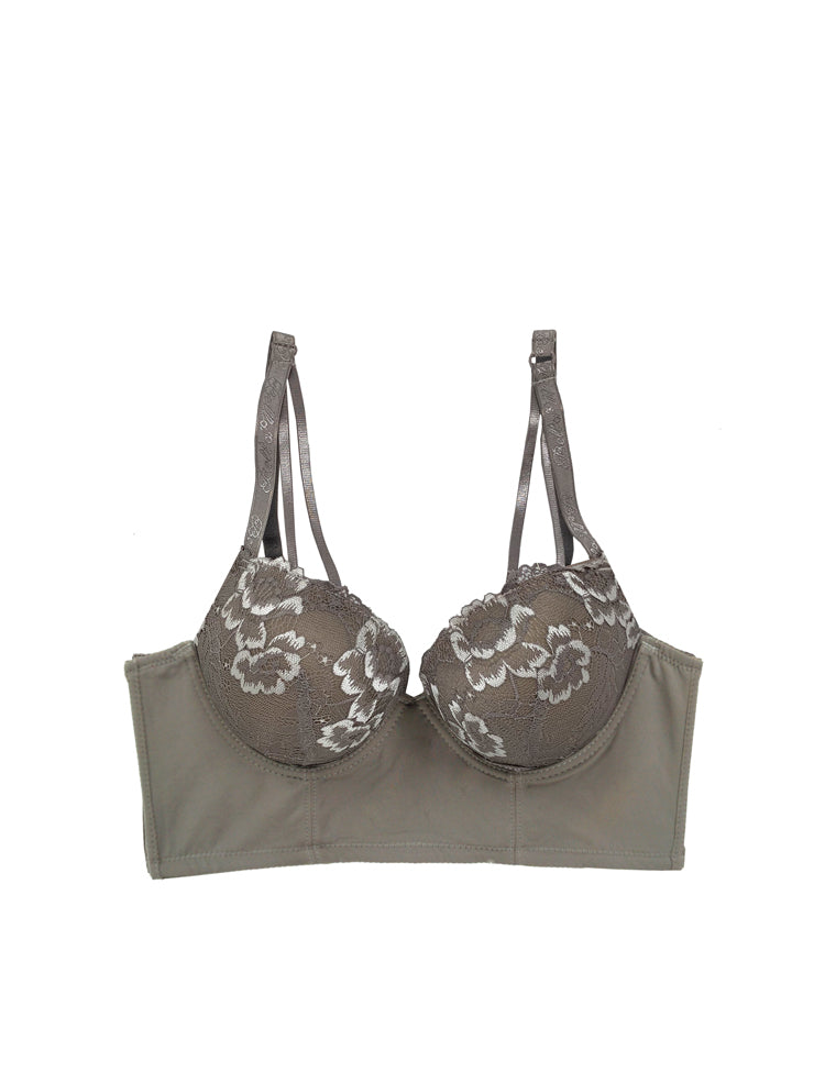 gia longline push-up bra
