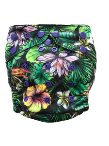 Eden Jungle easy to use cloth nappy uk
