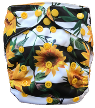 Load image into Gallery viewer, sunflower nappy UK