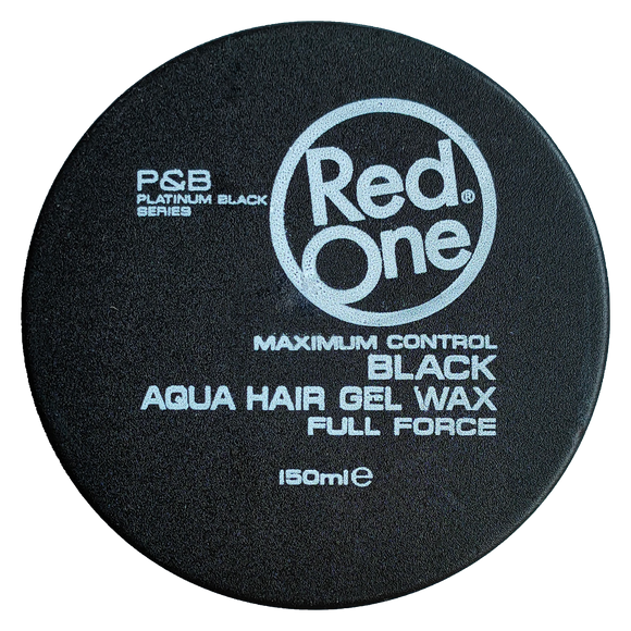 RedOne Black Aqua Hair Gel Wax 150 ml
