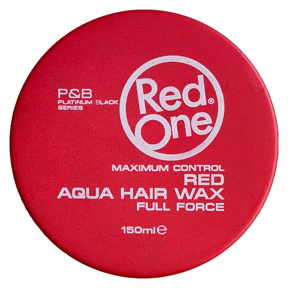 RedOne Red Aqua Hair Gel Wax 150 ml