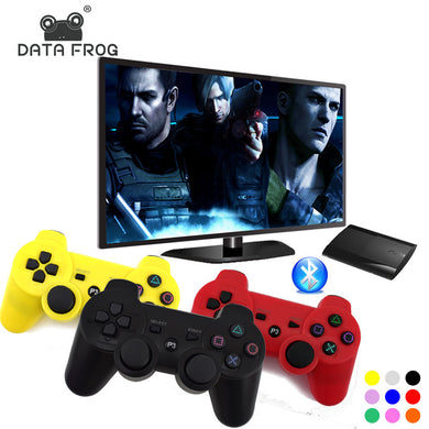 DATA FROG USB bluetooth Wireless Game Controller Remote Control Joystick Gamepad Support the Six-axis Movement for PS3 PC