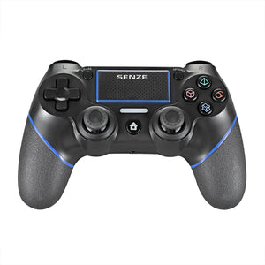Senze SZ-4002B bluetooth Gamepad Six-axis Sensor Motor Vibration Game Controller for Sony for Game Console PS4 PS3 PC