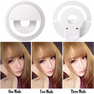 36LED Beauty Portable Rechargeable photo Studio fill light makeup Photographic light live webcast selfie led Ring Light