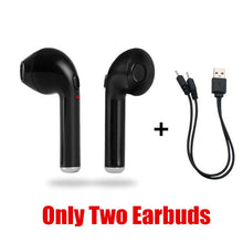 Load image into Gallery viewer, i7s TWS Wireless Earphones Bluetooth headphones sport Earbuds Headset With Mic Earpiece