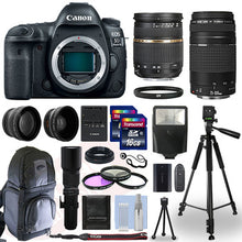 Load image into Gallery viewer, Canon EOS 5D Mark IV DSLR Camera & 24-105mm f/4L II USM Lens+ 64GB Pro Video Kit