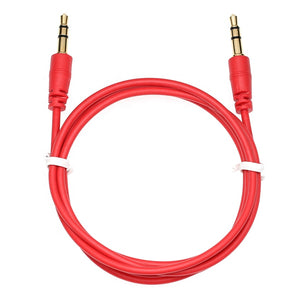 Jack 3.5mm Audio Extension Cable Gold-Plated Aux Cord For Huawei P20 lite Stereo for Headphone Xiaomi Redmi 5 MP3/4  PC
