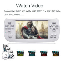 Load image into Gallery viewer, 64Bit 16GB 4.3 inch PAP KIII Plus Retro Classic family HD TV Video Console Portable Handheld Game Player for ps4 ps3