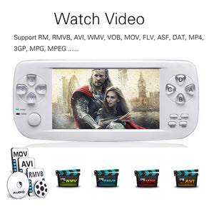 64Bit 16GB 4.3 inch PAP KIII Plus Retro Classic family HD TV Video Console Portable Handheld Game Player for ps4 ps3
