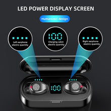 Load image into Gallery viewer, New F9 Wireless Headphones Bluetooth 5.0 Earphone TWS HIFI Mini In-ear Sports Running Headset Support iOS/Android Phones HD Call