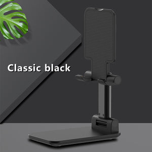 Luxury Telescopic Folding Smart Phone Tablet Stand Adjustable Holder
