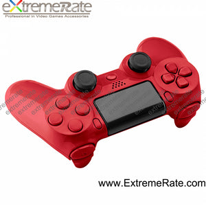 For PS4 Polished red Violet Controller Shell in hign quality