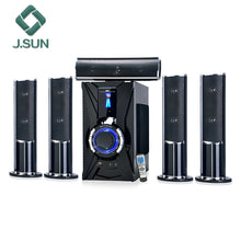 Load image into Gallery viewer, 2019 New virtual 5.1 7.1 surround sound active amplifier karaoke speaker system